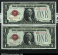 Small Size:Legal Tender Notes, Fr. 1500 $1 1928 Legal Tenders. CGA Gem Uncirculated 65....