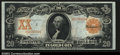 Large Size:Gold Certificates, Fr. 1185 $20 1906 Gold Certificate Choice About New. A ...