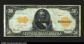 Large Size:Gold Certificates, Fr. 1199 $50 1913 Gold Certificate Very Fine. A decently ...