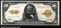 Large Size:Gold Certificates, Fr. 1200 $50 1922 Gold Certificate Extremely Fine. Bright, ...