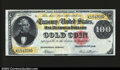 Large Size:Gold Certificates, Fr. 1211 $100 1882 Gold Certificate Extremely Fine. This ...