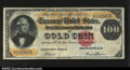 Large Size:Gold Certificates, Fr. 1211 $100 1882 Gold Certificate Very Fine. A solid ...