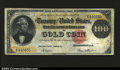 Large Size:Gold Certificates, Fr. 1211 $100 1882 Gold Certificate Fine. A solid example ...