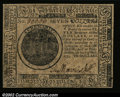 Colonial Notes:Continental Congress Issues, Continental Currency May 10, 1775 $7 Choice New. A well ...