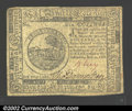 Colonial Notes:Continental Congress Issues, Continental Currency November 2, 1776 $6 Extremely Fine. ...