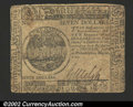 Colonial Notes:Continental Congress Issues, Continental Currency May 20, 1777 $7 Very Fine. A solid ...