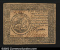 Colonial Notes:Continental Congress Issues, Continental Currency April 11, 1778 $5 Extremely Fine. A ...