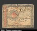 Colonial Notes:Continental Congress Issues, Continental Currency January 14, 1779 $80 Very Fine. A ...