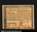 Colonial Notes:Rhode Island, Rhode Island July 2, 1780 $8 Gem New. A flawless example, ...