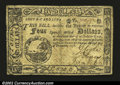 Colonial Notes:South Carolina, South Carolina Deccember 23, 1776 $4 Very Fine A nice ...