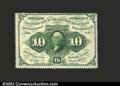 Fractional Currency:First Issue, Fr. 1241 10c First Issue Very Choice New. This no-monogram ...