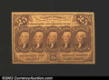 Fractional Currency:First Issue, Fr. 1281 25c First Issue Very Choice New. A near-Gem ...