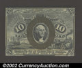 Fractional Currency:Second Issue, Fr. 1244SP 10¢ Second Issue Narrow Margin Pair Gem New. An ...