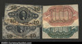 Fractional Currency:Third Issue, 10¢ Third Issue Narrow Margin Specimens Choice New. ...