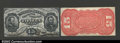 Fractional Currency:Third Issue, Fr. 1274SP 15¢ Third Issue Narrow Margin Pair Choice New. ...