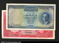World Currency: , Iraq, National Bank of Iraq 1 Dinar 1947, Pick 39, XF, ...