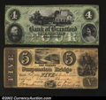 Canadian Currency: , Brantford, ON-Bank of Brantford $4 Nov. 1, 1859 Ch. 40-10-...
