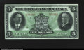 Canadian Currency: , Montreal- The Royal Bank of Canada $5 Jan. 3, 1927 Ch. 630-...