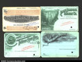 Miscellaneous:Other, Four Specimen Railroad Passes, from the Northern pacific ...
