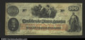 Confederate Notes:1862 Issues, T41 $100 1862. A well margined note that is a problem-free ...