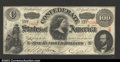 Confederate Notes:1863 Issues, T56 $100 1863. This beautiful Crisp Uncirculated Lucy ...