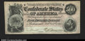 Confederate Notes:1864 Issues, T64 $500 1864. A nice, bright and problem free example. ...