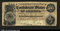 Confederate Notes:1864 Issues, T64 $500 1864. A pleasing Very Fine example....
