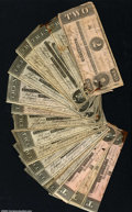 Confederate Notes:Group Lots, A Large Group of Miscellaneous Confederates. Included are ...