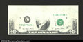 Error Notes:Missing Face Printing (<100%), Fr. 2024-C $10 1977A Federal Reserve Note. Gem Crisp ...