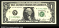Error Notes:Blank Reverse (100%), Fr. 1913-K $1 1985 Federal Reserve Note. Gem Crisp ...
