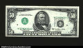 Error Notes:Inverted Third Printings, Fr. 2119-D $50 1977 Federal Reserve Note. About Uncirculated....