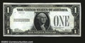 Error Notes:Missing Third Printing, Fr. 1600 $1 1928 Silver Certificate. About Uncirculated. ...