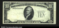 Error Notes:Missing Third Printing, Fr. ? $10 ? Federal Reserve Note. Choice About Uncirculated....