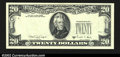 Error Notes:Missing Third Printing, Fr. 2076-? $20 1988A Federal Reserve Note. Choice About ...