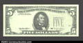 Error Notes:Third Printing on Reverse, Fr. 1985-F $5 1995 Federal Reserve Note. Choice Crisp ...