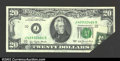 Error Notes:Foldovers, Fr. 2072-J $20 1977 Federal Reserve Note. Gem Crisp ...