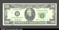 Error Notes:Ink Smears, Fr. 2081-B $20 1995 Federal Reserve Note. Extremely Fine-...