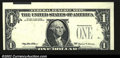 Error Notes:Major Errors, Fr. 1924-C $1 1999 Federal Reserve Note. Gem Crisp ...