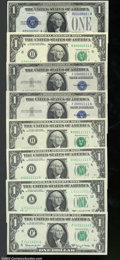 Small Size:Legal Tender Notes, Number 1 Through 11111111