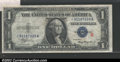 """Small Size:Silver Certificates, Fr. 1609* $1 """"R"""" 1935A Silver Certificate. CGA Extremely ..."""