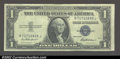 Small Size:Silver Certificates, Fr. 1615 $1 1935F Silver Certificate. Choice About ...