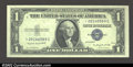 Small Size:Silver Certificates, Fr. 1617* $1 1935G With Motto Silver Certificate. Superb Gem ...