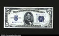 Small Size:Silver Certificates, Fr. 1653 $5 1934C Mule Silver Certificate. Back Plate 629. ...