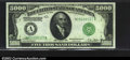 Small Size:Federal Reserve Notes, Fr. 2220-A $5000 1928 Federal Reserve Note. CGA Gem ...