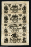 Obsoletes By State:Connecticut, Hartford, CT- The State Bank $20-$20-$50-$100 G20-G20-G22-...