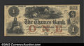 Obsoletes By State:Connecticut, Laurel, CT- The Thames Bank $1 Aug. 12, 1856 A5