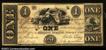 Obsoletes By State:Indiana, Madison, IN- King & Woodburn $1 Jan. 1, 1840 Wolka UNL
