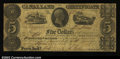 Obsoletes By State:Indiana, Peru, IN- State of Indiana $5 Oct. 7, 1842 Wolka 658-3