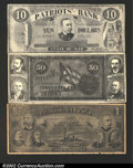 Obsoletes By State:Massachusetts, A Trio of Massachusetts Ad Notes, including; Amherst, ...