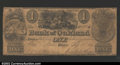 Obsoletes By State:Michigan, Pontiac- The Bank of Oakland $1 Sept. 5, 1837 G2 Bowen 1...